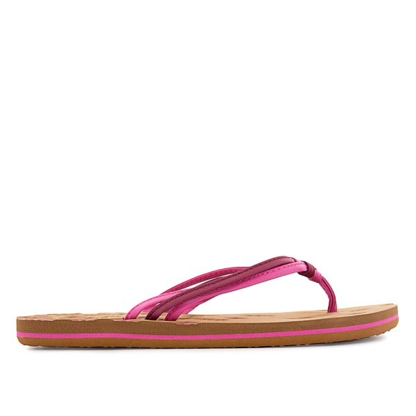O Neill Wmn Schlappe Strap Ditsy Pink