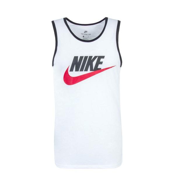 Nike Tank NSW Ace Logo White Black Red