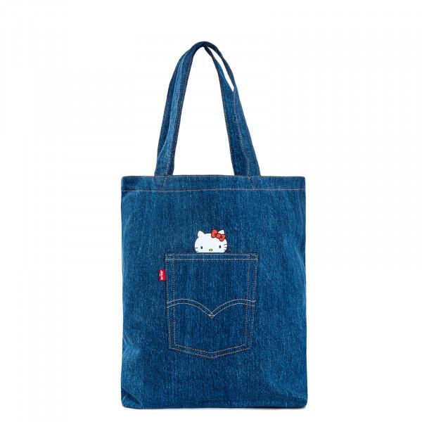 Tragetasche 230865 Hello Kitty Jeans Blue