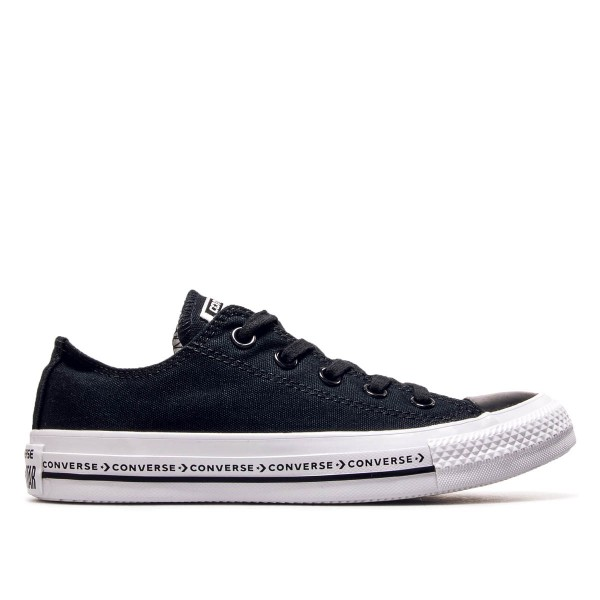 Damen Sneaker AS Ox Black White