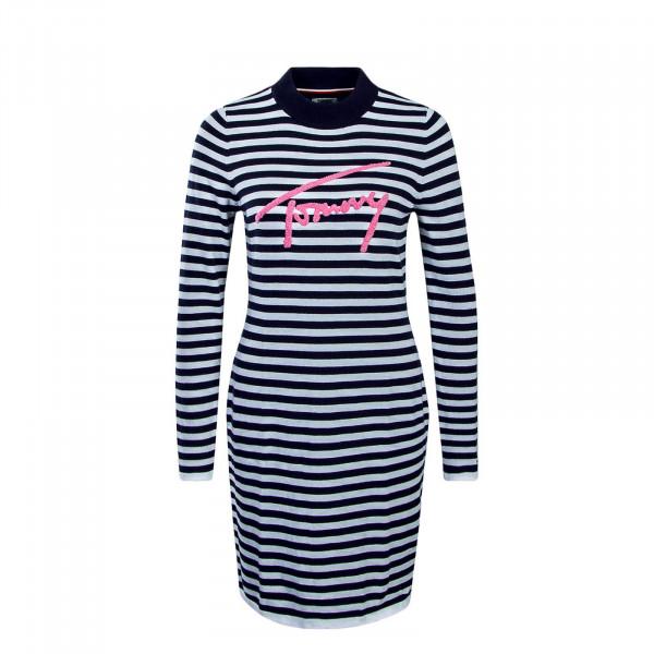 Kleid TJW Stripe Navy White