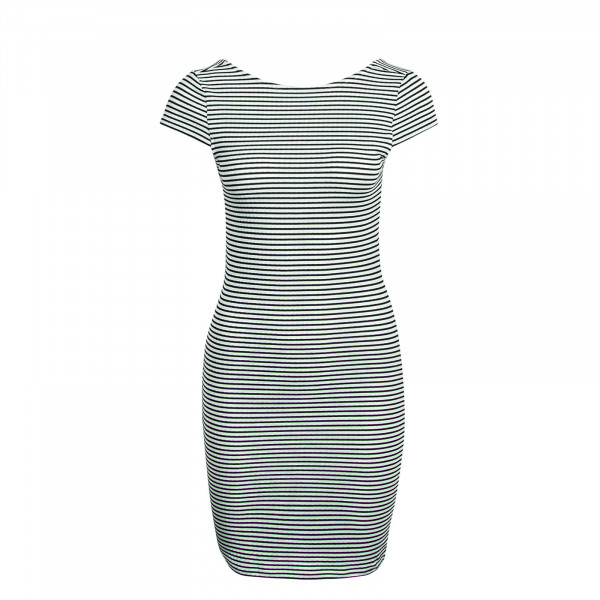 Kleid Pablo Stripes White Black