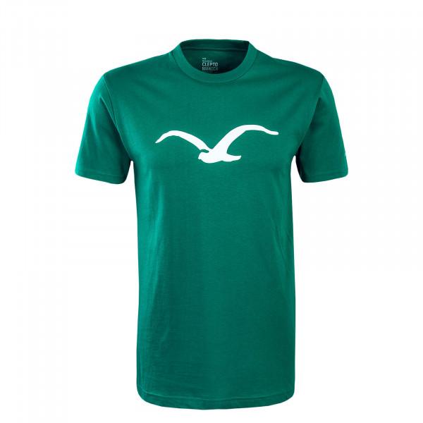 Herren T-Shirt Möwe Green White