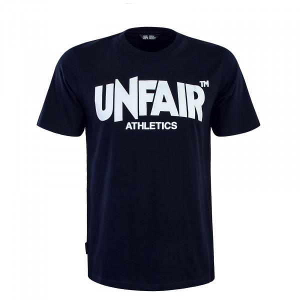 Herren T-Shirt 071 Classic Label Navy White