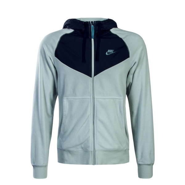Herren Fleecejacke FZ Core Grey Navy