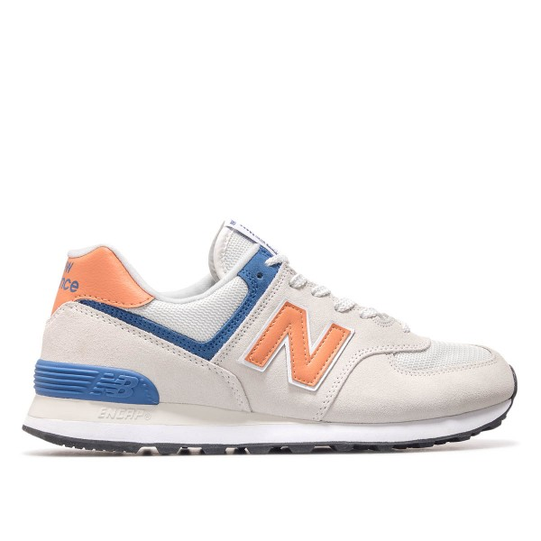 New Balance ML574 SMG Beige Orange Blue
