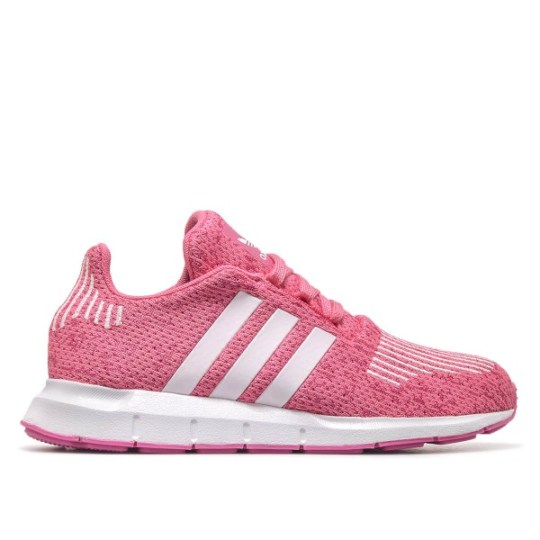 Adidas Wmn Swift Run J Pink White