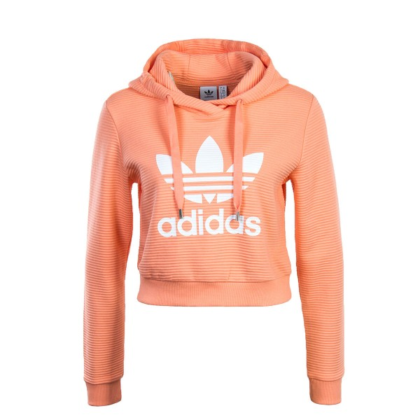 Adidas Wmn Hoody Trefoil Orange White