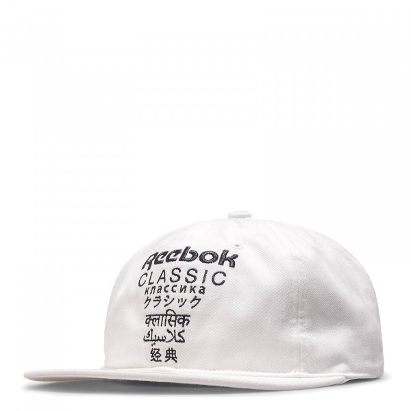 Reebok Cap CL Internnational White