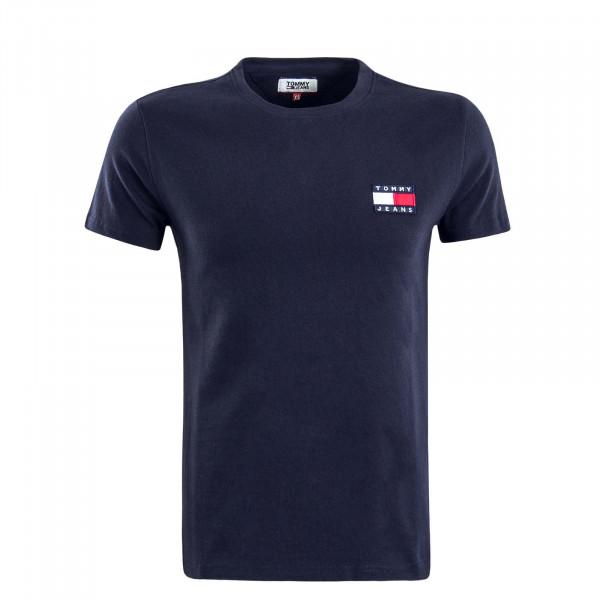 Herren T-Shirt TJM Badge Navy