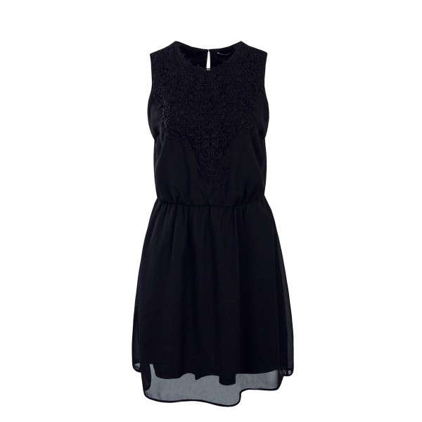 Only Dress Laura Chrochet Black