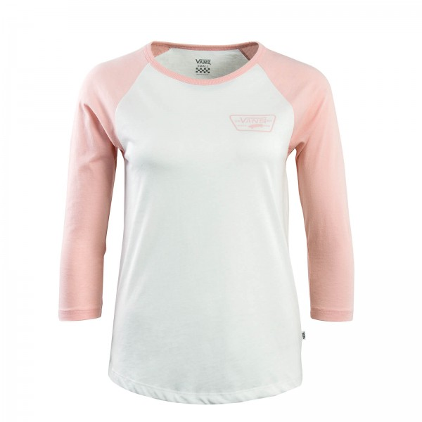 Vans Wmn LS Full Patch Raglan Beige Rose