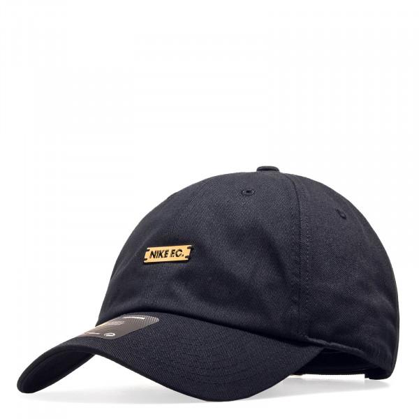 652b6e5762b5 Nike U Cap F.C. H86 Black Metallic Gold