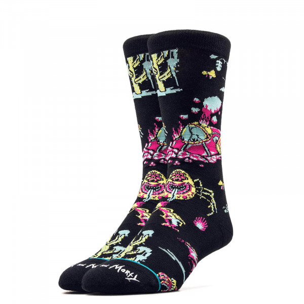 Stance Socks Foundation Crash Blk Multi
