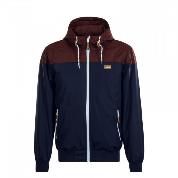 Herren Jacke Insulaner Dark Rum Navy Brown
