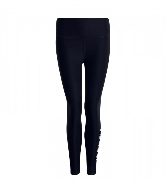 Damen Leggings Logo 85894 Black