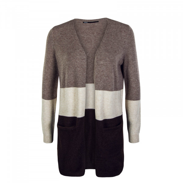 Damen Cardigan Queen Long Woodsmoke