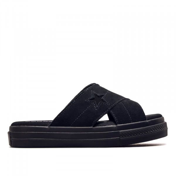 Damen Slide One Star Black Black