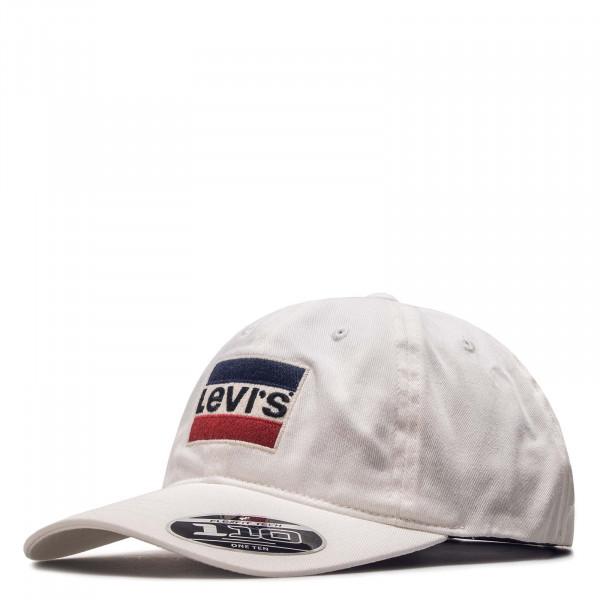 Levis Cap Logo White