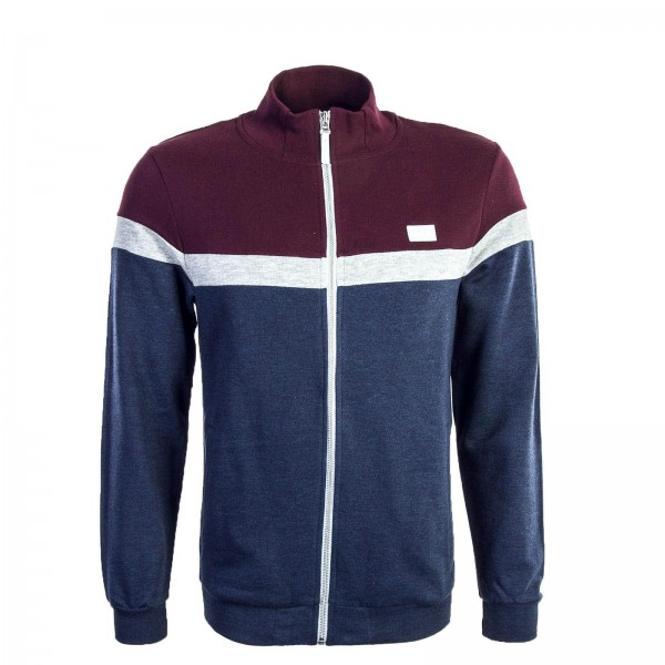 Iriedaily Sweatjkt Auf Deck Marron Navy