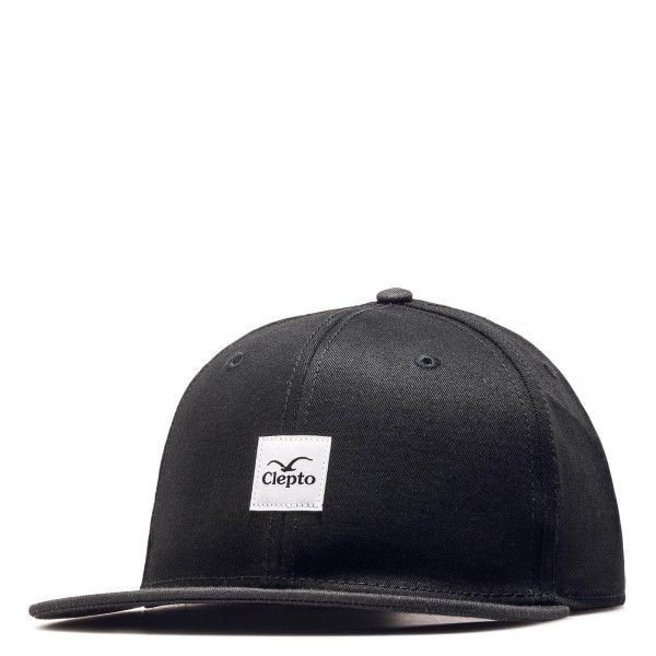 Clepto Cap Badger Black