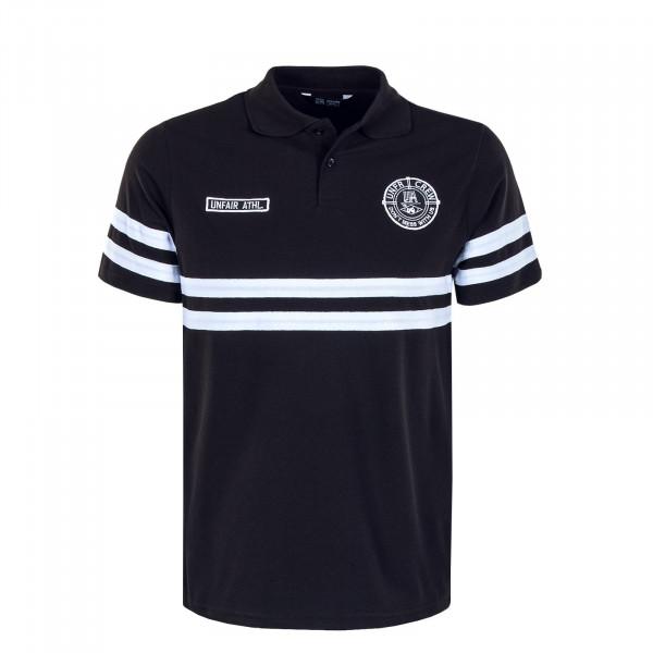Herren Poloshirt DMWU Black White