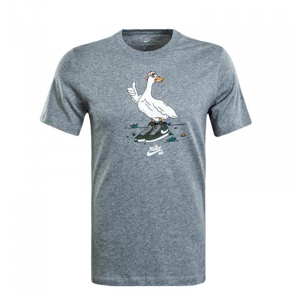 Herren T-Shirt Goose Grey