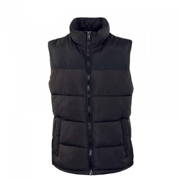 Herren Weste - Paul Bodywarmer Collar - Black