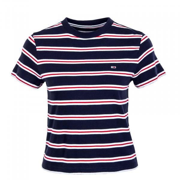 Damen T-Shirt - Regular Contrast 10180 - Twilight / Navy
