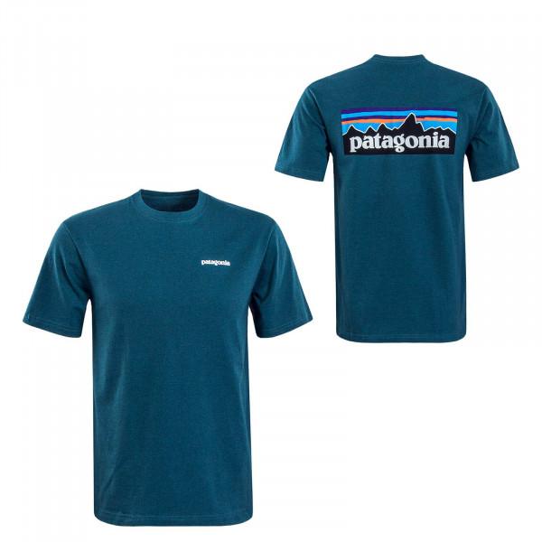Herren T-Shirt P6 Logo Responsibili Teal