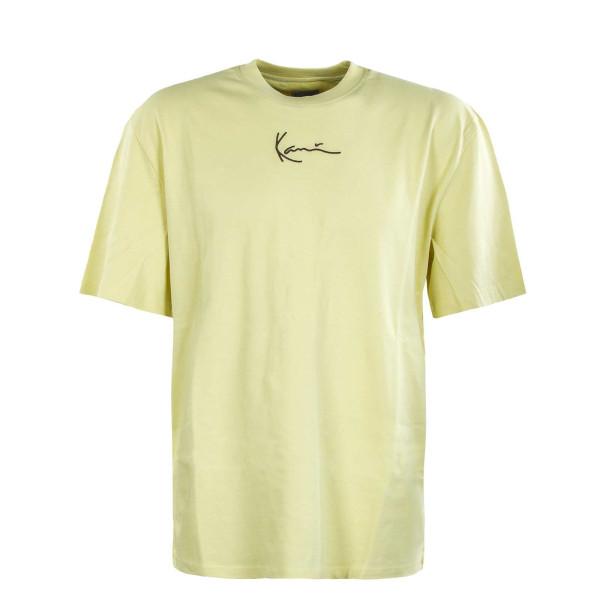 Herren T-Shirt - Small Signature - Light / Yellow