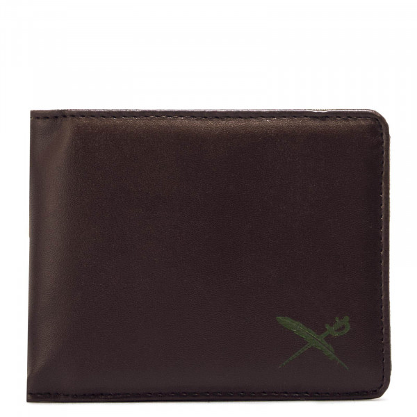 Iriedaily Wallet Mixed Flag Brown