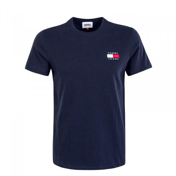 Herren T-Shirt Badge Twilight Navy