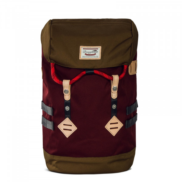 Doughnut Backpack Colorado Wine Khaki