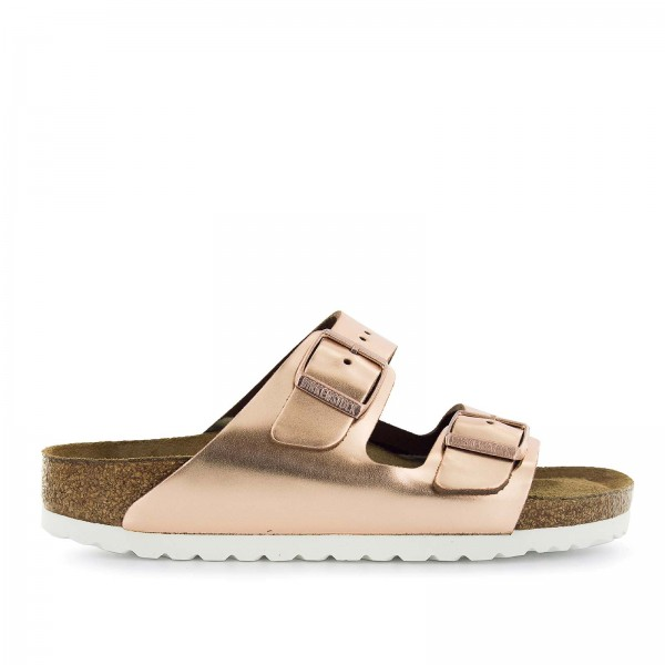 Birkenstock Wmn Arizona Metallic Copper