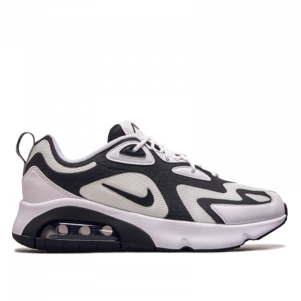 Herren Sneaker Air Max 200 White Black