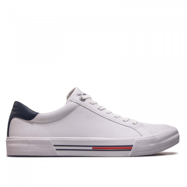Herren Sneaker Essential Leather Sneaker White