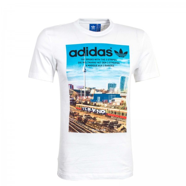 Adidas TS Spree Vollgas White Blue