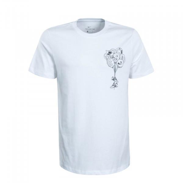 Herren T-Shirt SZNL White Black