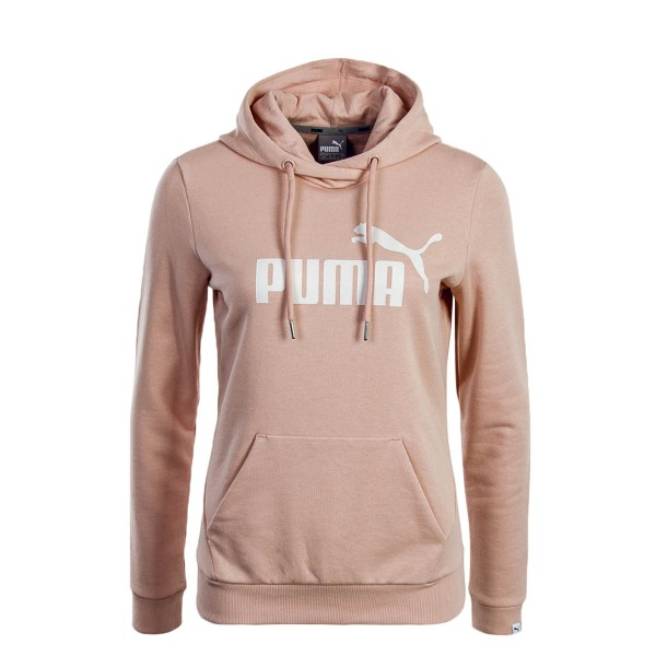 Puma Wmn Hoody ESS No.1 Peach White