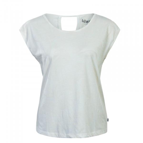 T-Shirt Gabrisa Palm Leave Off Wht