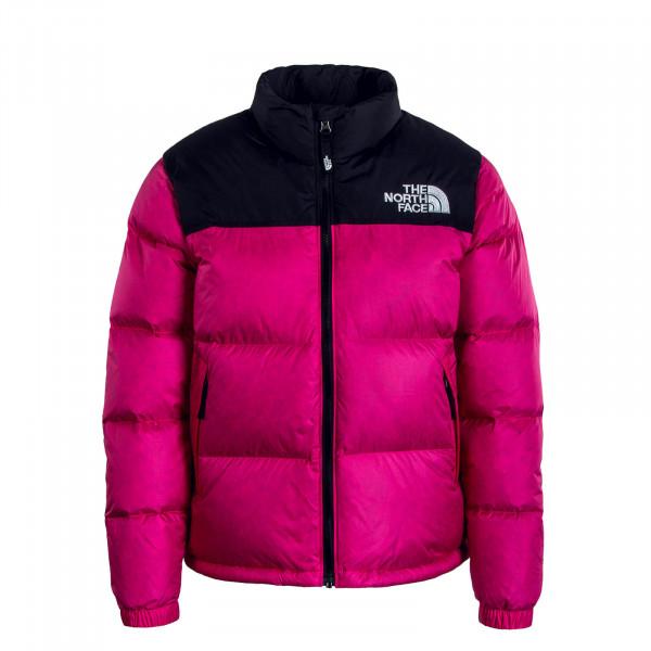 Mädchen Daunenjacke Retro Nuptse Pink