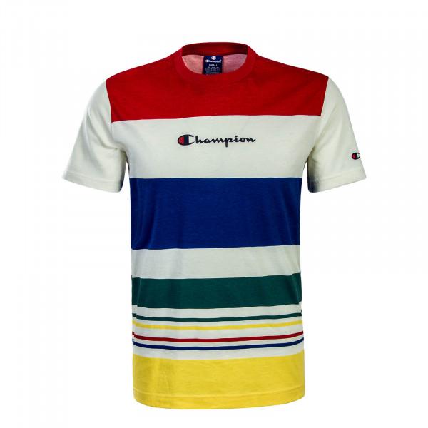 Champion TS Stripe Beige Red Blue
