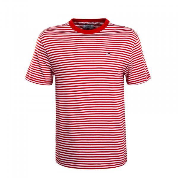 Herren T-Shirt 5515 Classic Stripe Red White