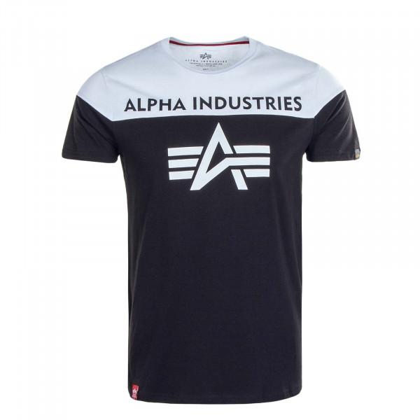Herren T-Shirt CB T 506 Black White