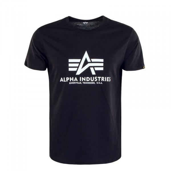 Herren T-Shirt Basic Black