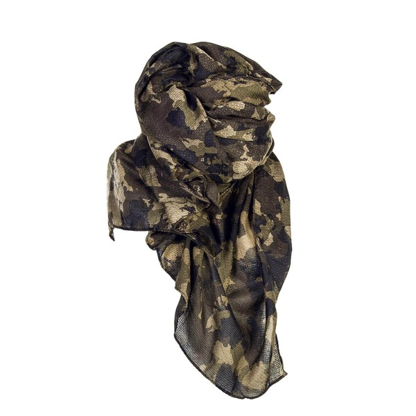 Only Scarf Brittany Weaved Camo OliveBlk