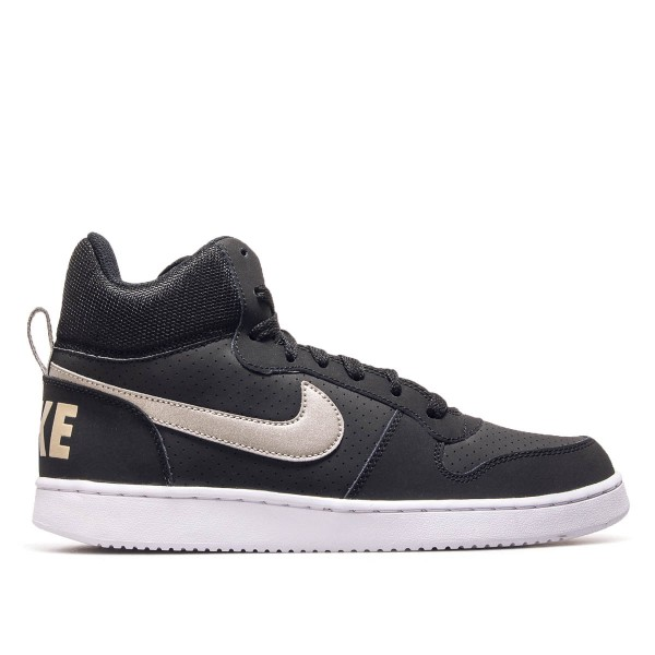 Nike Court Borough Mid Black Khaki White