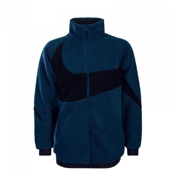 Nike Jkt NSW SWSH Fullzip Blue  Black
