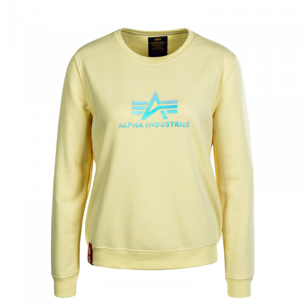Damen Sweater Rainbow Pastel Yellow